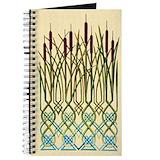 Celtic bullrushes Journals & Spiral Notebooks