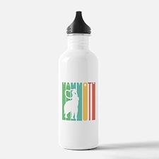 Retro Woolly Mammoth Water Bottle