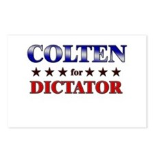 COLTEN for dictator Postcards (Package of 8)