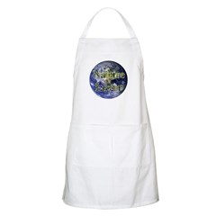 Nature Lover Earth BBQ Apron