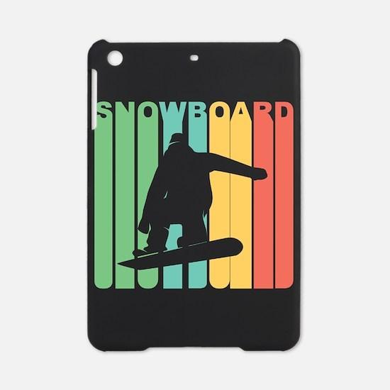 Retro Snowboard iPad Mini Case