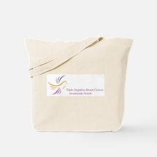 TNBC Awareness Month Tote Bag
