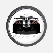 "Exige ""Enjoy the view."" Wall Clock"