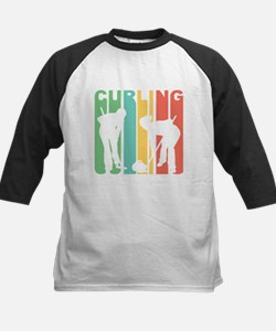 Retro Curling Baseball Jersey