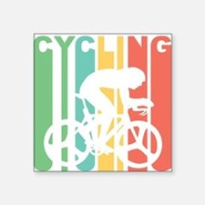Retro Cycling Sticker