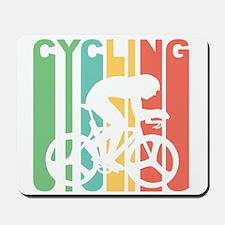 Retro Cycling Mousepad