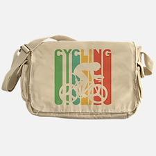 Retro Cycling Messenger Bag