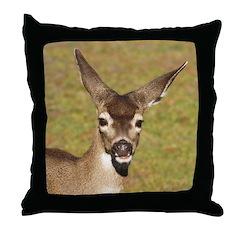 Young Doe Throw Pillow