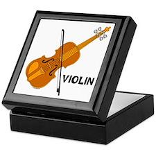 Violin Keepsake Box