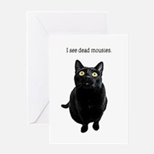 I See Dead Mousies Greeting Cards