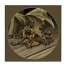 Tavern Dragon Tile Coaster