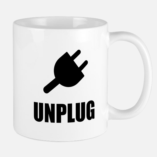 Unplug Technology Mugs