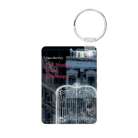 Murders in the Rue Morgue Aluminum Photo Keychain