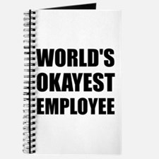 World's Okayest Employee Journal