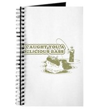 """""""I caught you a delicious bass"""" Journal"""
