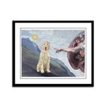 Creation / Ital Spinone Framed Panel Print