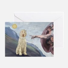 Creation / Ital Spinone Greeting Card