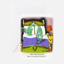 Love Cartoon 9395 Greeting Card