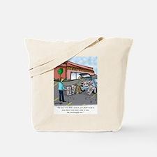 Shopping Cartoon 9392 Tote Bag