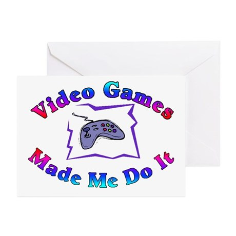 Blame The Game Greeting Cards (Pk of 10)