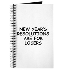 New Year's Loser Journal