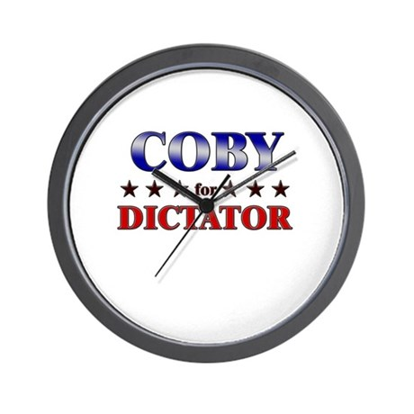 COBY for dictator Wall Clock