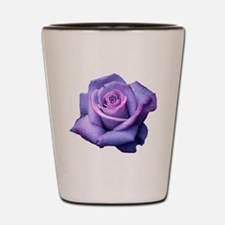 Unique Purple rose professional photo Shot Glass