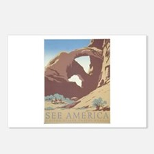 See America - Arches N.P. Postcards (Package of 8)