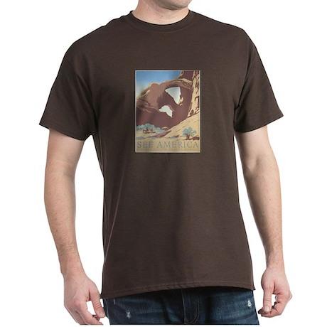 See America - Arches N.P. Dark T-Shirt