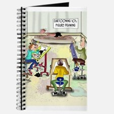 Artist Cartoon 9393 Journal