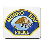 Morro Bay Police Mousepad