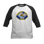 Morro Bay Police Kids Baseball Jersey