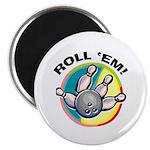 Roll 'Em Bowling Magnet