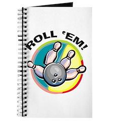 Roll 'Em Bowling Journal