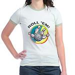 Roll 'Em Bowling Jr. Ringer T-Shirt