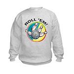 Roll 'Em Bowling Kids Sweatshirt