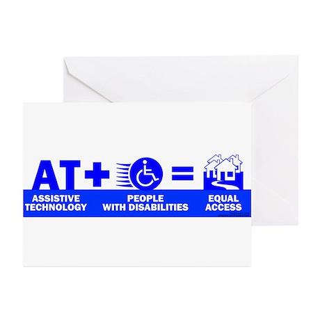 AT = Access! Greeting Cards (Pk of 10)