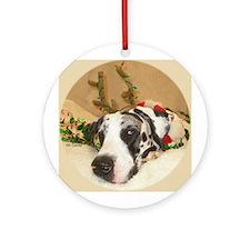 NH Holidog Ornament (Round)