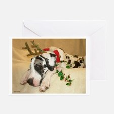 NH Holidog2 Greeting Cards (Pk of 20)