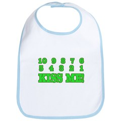 Kiss me countdown Bib