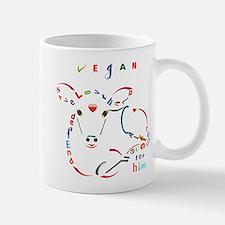 Calf Typography Mugs