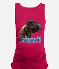Cool Dog picture Maternity Tank Top