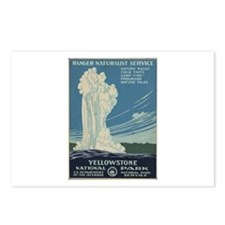 Yellowstone N.P. Postcards (Package of 8)