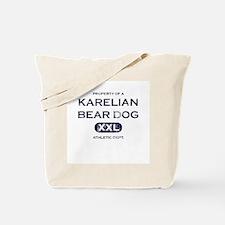 Property of Karelian Bear Dog Tote Bag