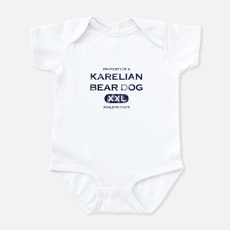 Property of Karelian Bear Dog Baby Bodysuit