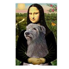 Mona / Irish Wolf Postcards (Package of 8)