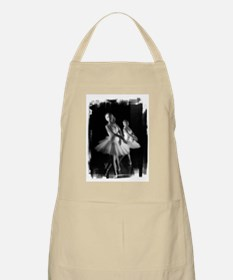 Little Ballerinas B&W BBQ Apron