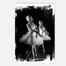 Little Ballerinas B&W Postcards (Package of 8)
