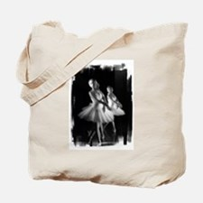 Little Ballerinas B&W Tote Bag