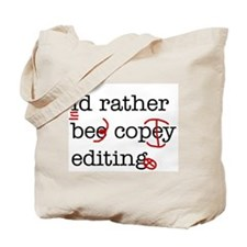Cute Copy editor Tote Bag
